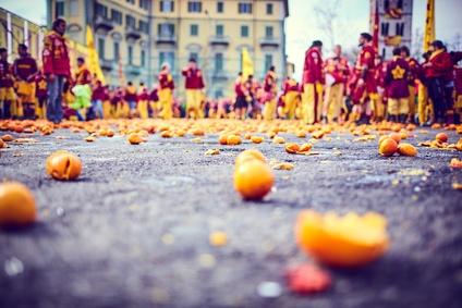 La battaglia delle arance