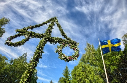 Swedish Midsommar tradition