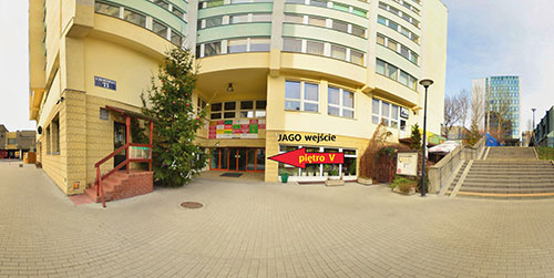 JAGO School entrance