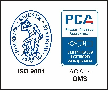 PRS S.A. Certification