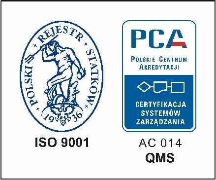 Certyfikat PRS S.A.