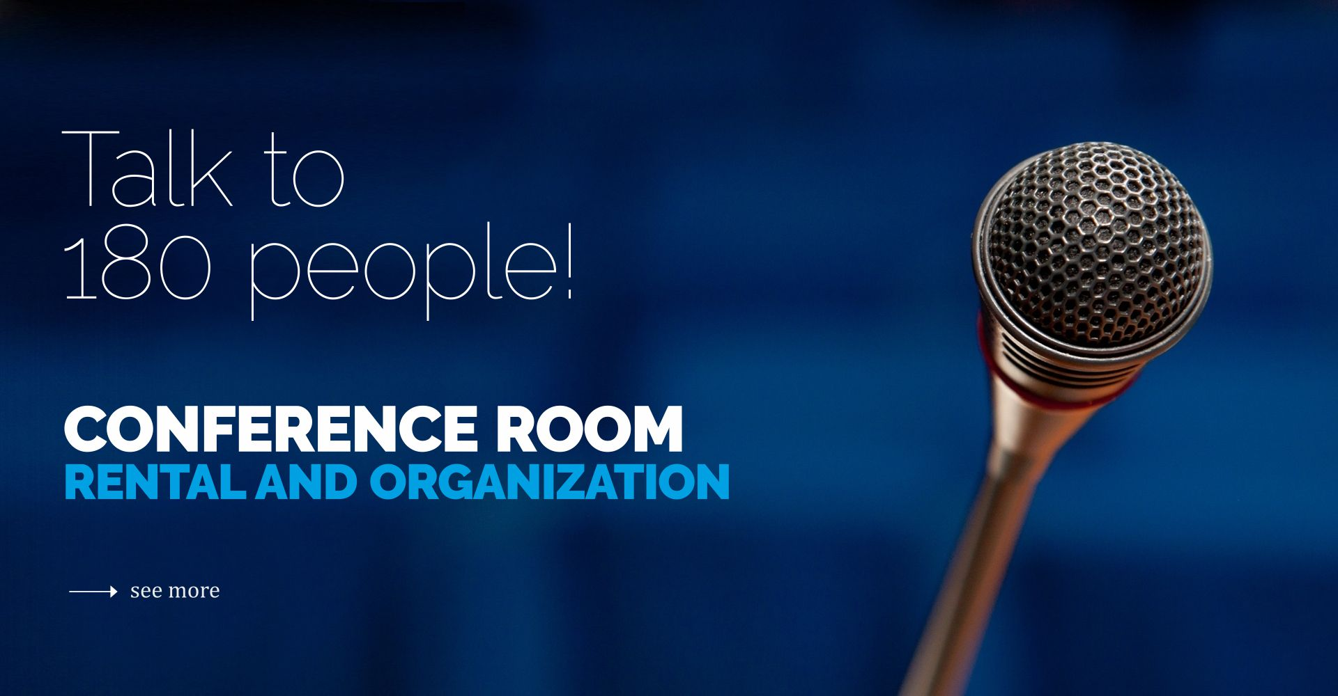 Rent the conference room